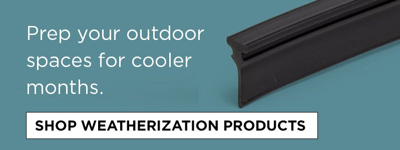 Shop Weatherization Products
