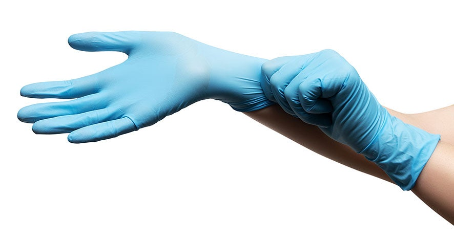 Disposable, protective gloves | Hand PPE